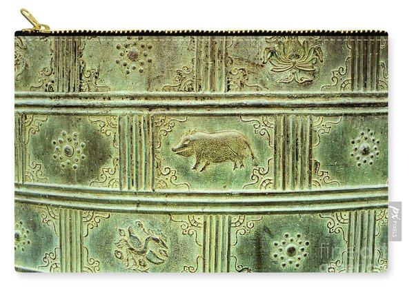 Hue Imperial Citadel Bronze Urn 02 Carry-all Pouch