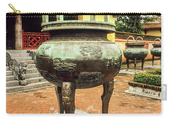 Hue Imperial Citadel Dynastic Urn Carry-all Pouch
