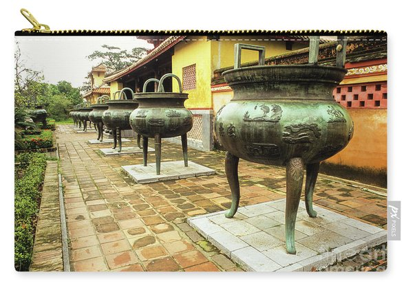 Hue Imperial Citadel Dynastic Urns Carry-all Pouch