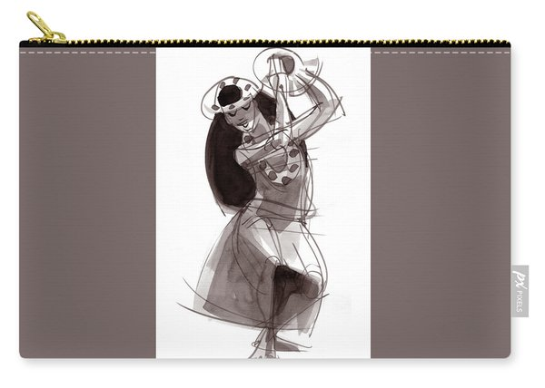 Hula Dancer Alika Carry-all Pouch