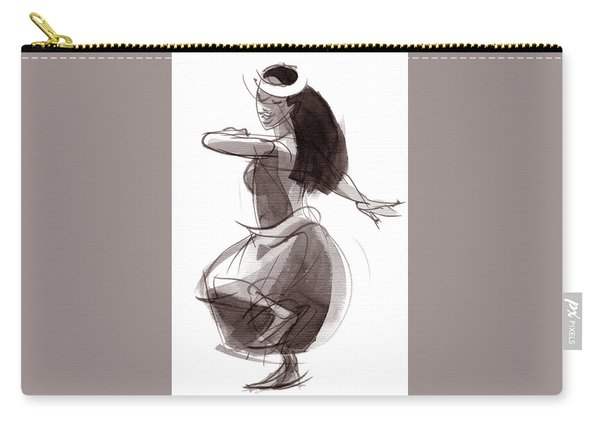 Hula Dancer Olina Carry-all Pouch