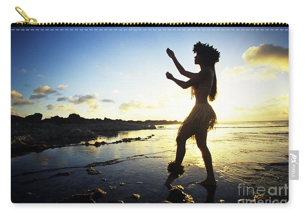 Hula Silhouette Carry-all Pouch
