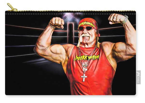 Hulk Hogan Wrestling Collection Carry-all Pouch