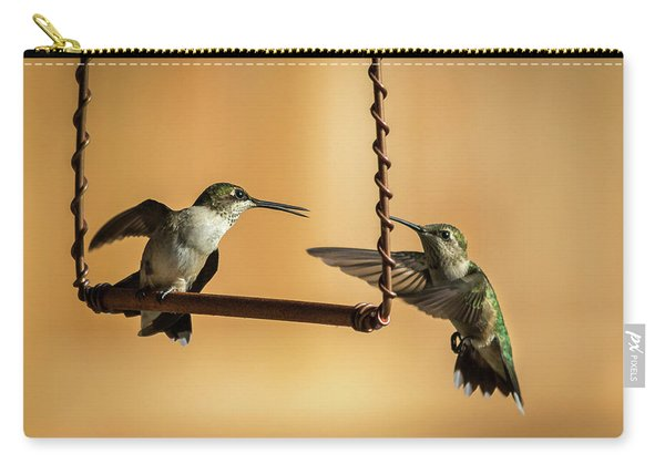Humming Birds Carry-all Pouch