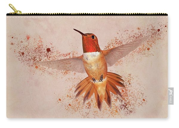 Hummingbird Color Splash II Carry-all Pouch