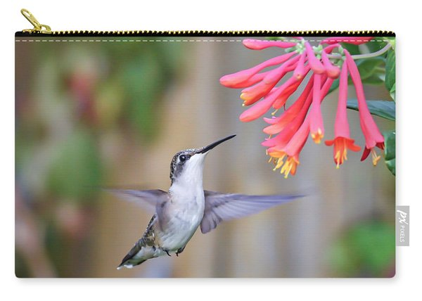 Hummingbird Happiness 2 Carry-all Pouch