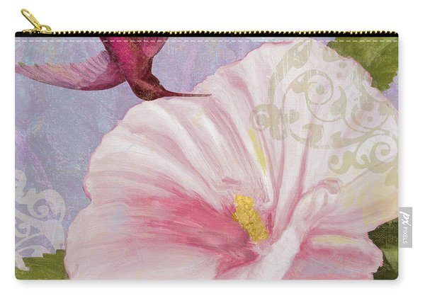 Hummingbird Hibiscus II Carry-all Pouch