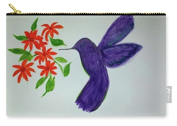 Hummingbird Joy Carry-all Pouch
