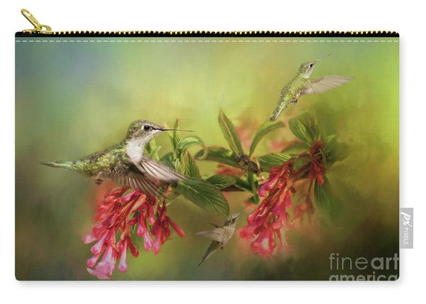 Hummingbird Paradise Carry-all Pouch