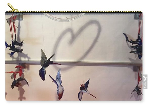 Hummingbird Shadows Carry-all Pouch