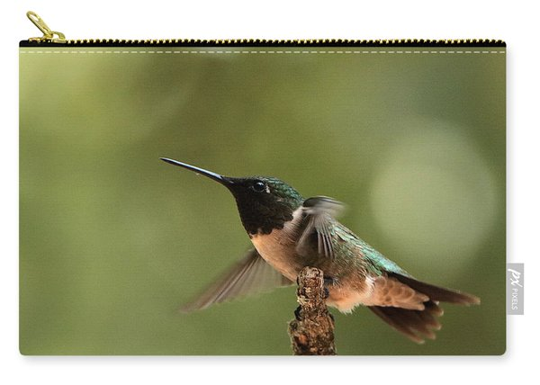 Hummingbird Take-off Carry-all Pouch