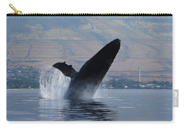Humpback Whale Breach Carry-all Pouch