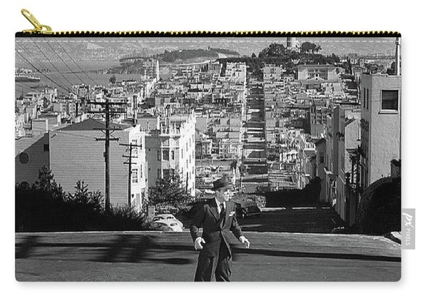 Humphrey Bogart Film Noir Dark Passage Telegraph Hill And Coit Tower San Francisco 1947 Carry-all Pouch