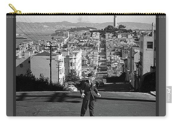 Humphrey Bogart Film Noir Dark Passage Telegraph Hill And Coit Tower San Francisco 1947 Carry-all Pouch