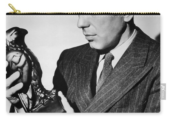 Humphrey Bogart Holding Falcon The Maltese Falcon 1941  Carry-all Pouch