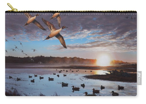 Humphrey Farm Pintails Carry-all Pouch