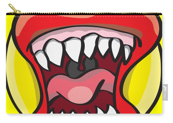 Hungry Pacman Carry-all Pouch