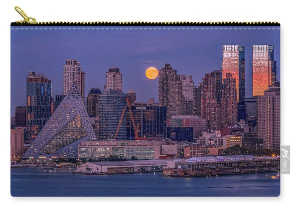 Hunter's Moon Over Ny Carry-all Pouch