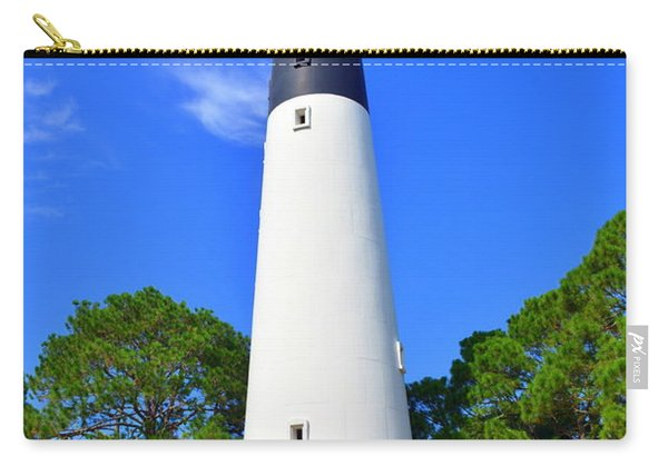 Hunting Island Lighthouse Beaufort Sc Carry-all Pouch