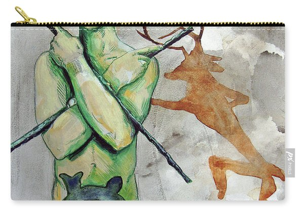 Youth Hunting Turtles Carry-all Pouch