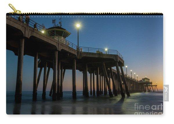 Huntington Beach Pier At Dusk Carry-all Pouch