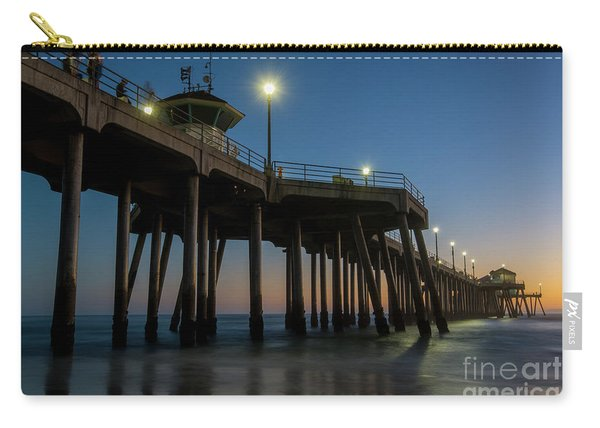 Huntington Beach Pier At Dusk Carry-all Pouch