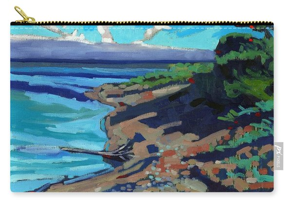 Huron Shore Shadows Carry-all Pouch