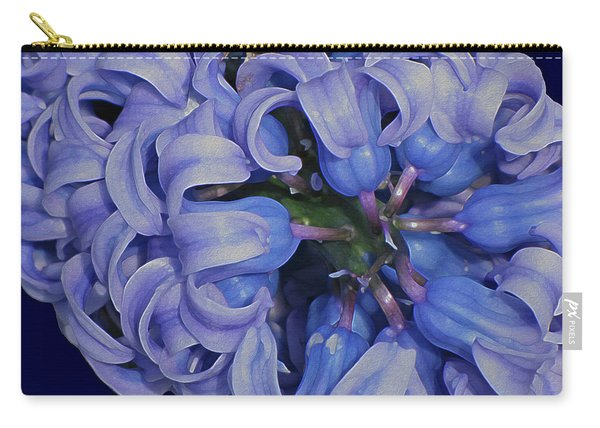 Hyacinth Curls Carry-all Pouch