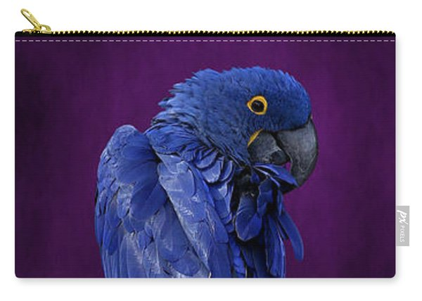 Hyacinth Macaw Panoramic Carry-all Pouch