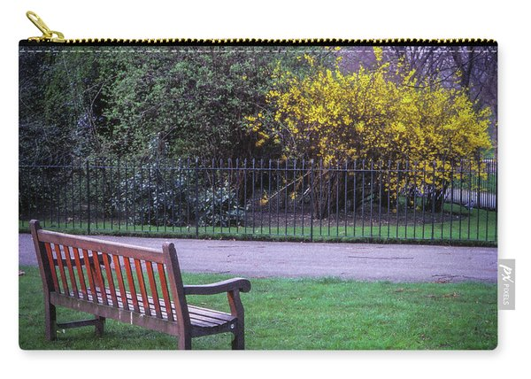 Hyde Park Bench - London Carry-all Pouch