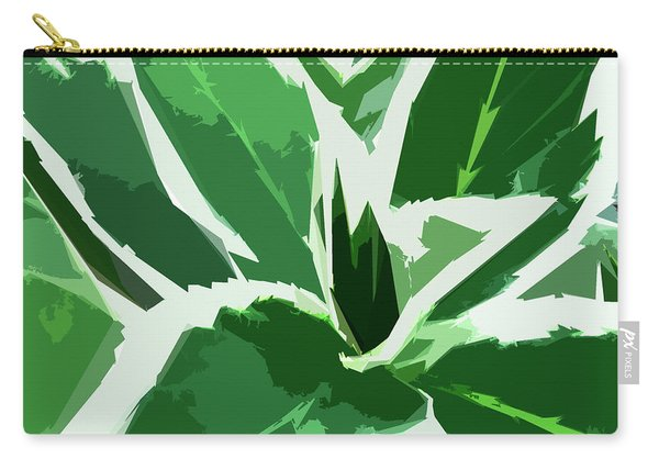 Carry-all Pouch featuring the digital art Hydrangea by Gina Harrison