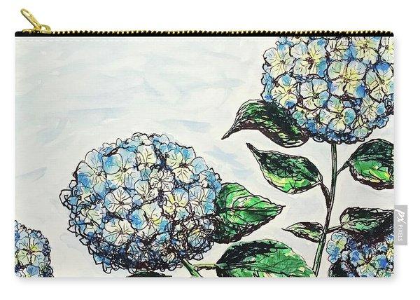 Hydrangeas Carry-all Pouch
