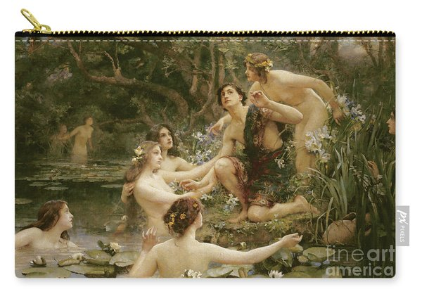 Hylas And The Water Nymphs Carry-all Pouch