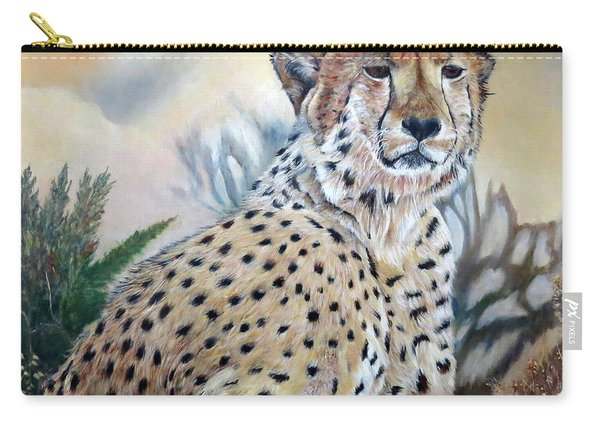 I Am Cheetah 2 Carry-all Pouch