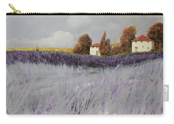 I Campi Di Lavanda Carry-all Pouch