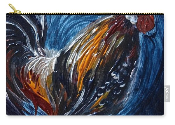 I Gayu Guam Rooster Carry-all Pouch