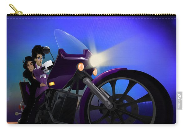 I Grew Up With Purplerain Carry-all Pouch