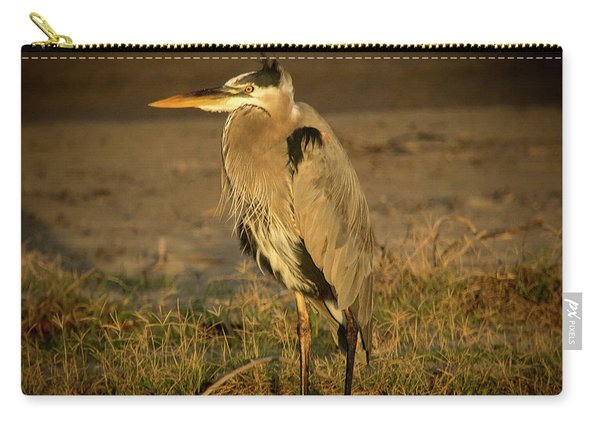 I Know They Are Coming Wildlife Art By Kaylyn Franks Carry-all Pouch