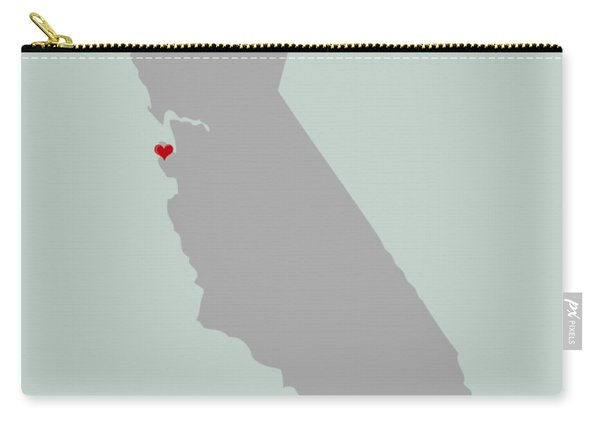 I Left My Heart In Sf Carry-all Pouch