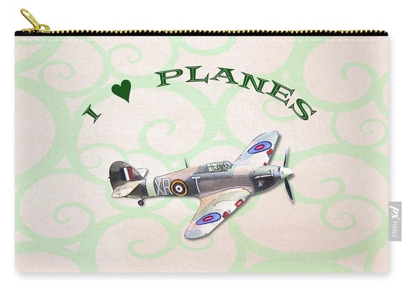 I Love Planes - Hurricane Carry-all Pouch
