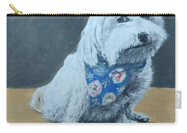 Carry-all Pouch featuring the painting No Bowls by Kevin Daly