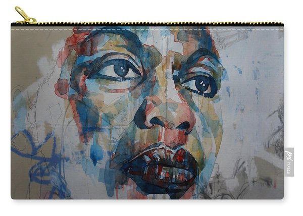 I Put A Spell On You - Nina Simone  Carry-all Pouch