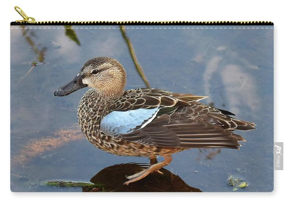 I Really Am A Green Winged Teal Carry-all Pouch