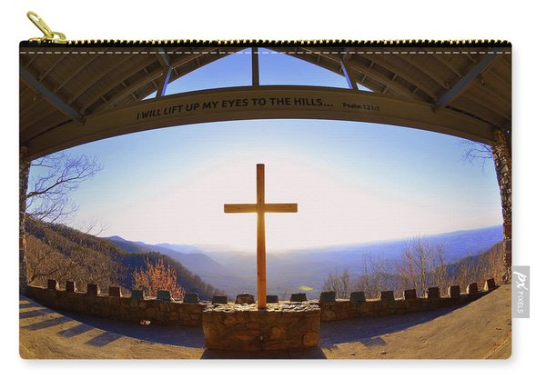 I Will Lift My Eyes To The Hills Psalm 121 1 Carry-all Pouch