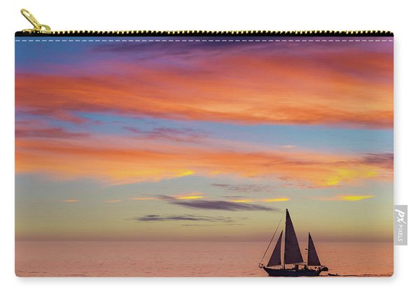 I Will Sail Away, And Take Your Heart With Me Carry-all Pouch