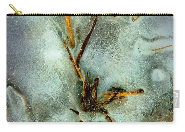 Ice Abstract Carry-all Pouch