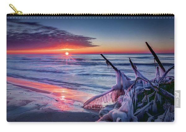 Ice Age Sunrise 1 Carry-all Pouch