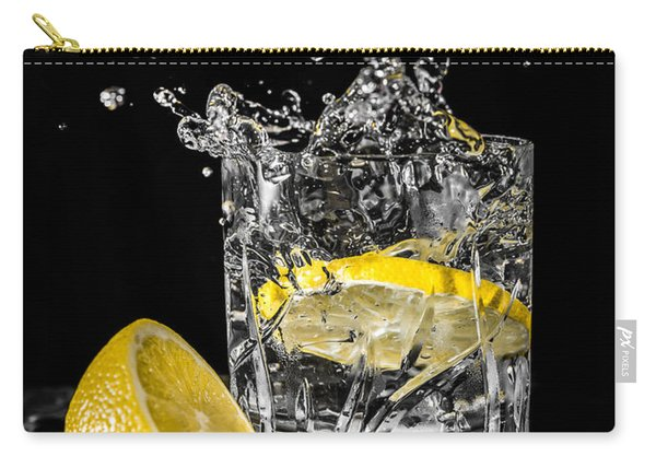 Carry-all Pouch featuring the photograph Ice And A Slice by Nick Bywater