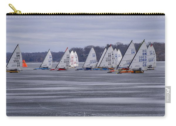 Ice Boat Racing - Madison - Wisconsin Carry-all Pouch