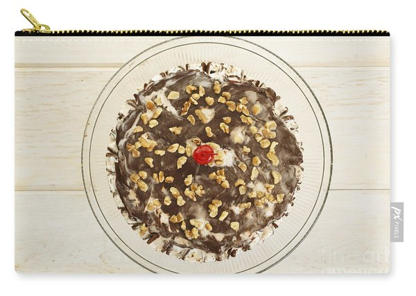 Ice Cream Cake Above Carry-all Pouch